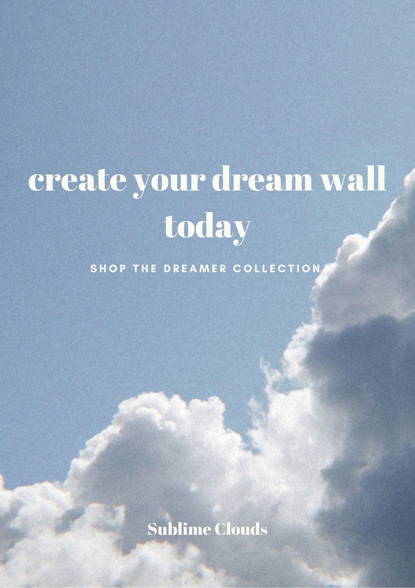 Set Of 2 Mindfulness Cloud Art Print T Zen Wall Art Set