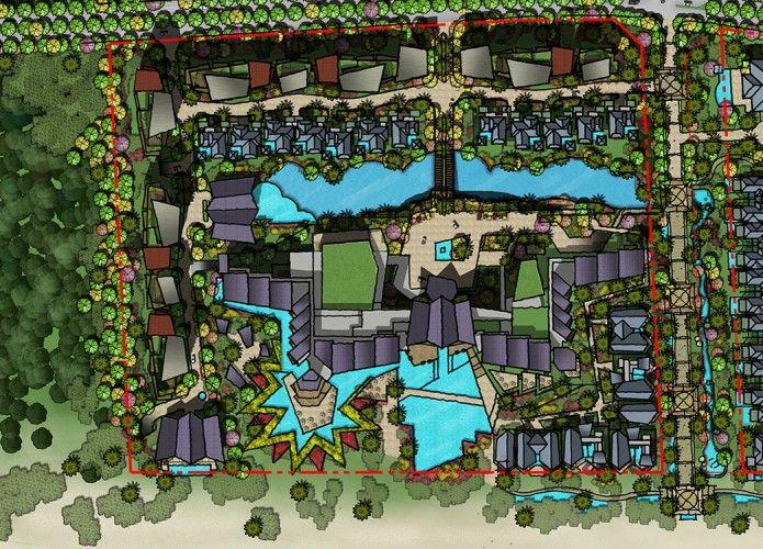 Renaissance Tong An Resort Resort Plan Resort Futuristic Architecture