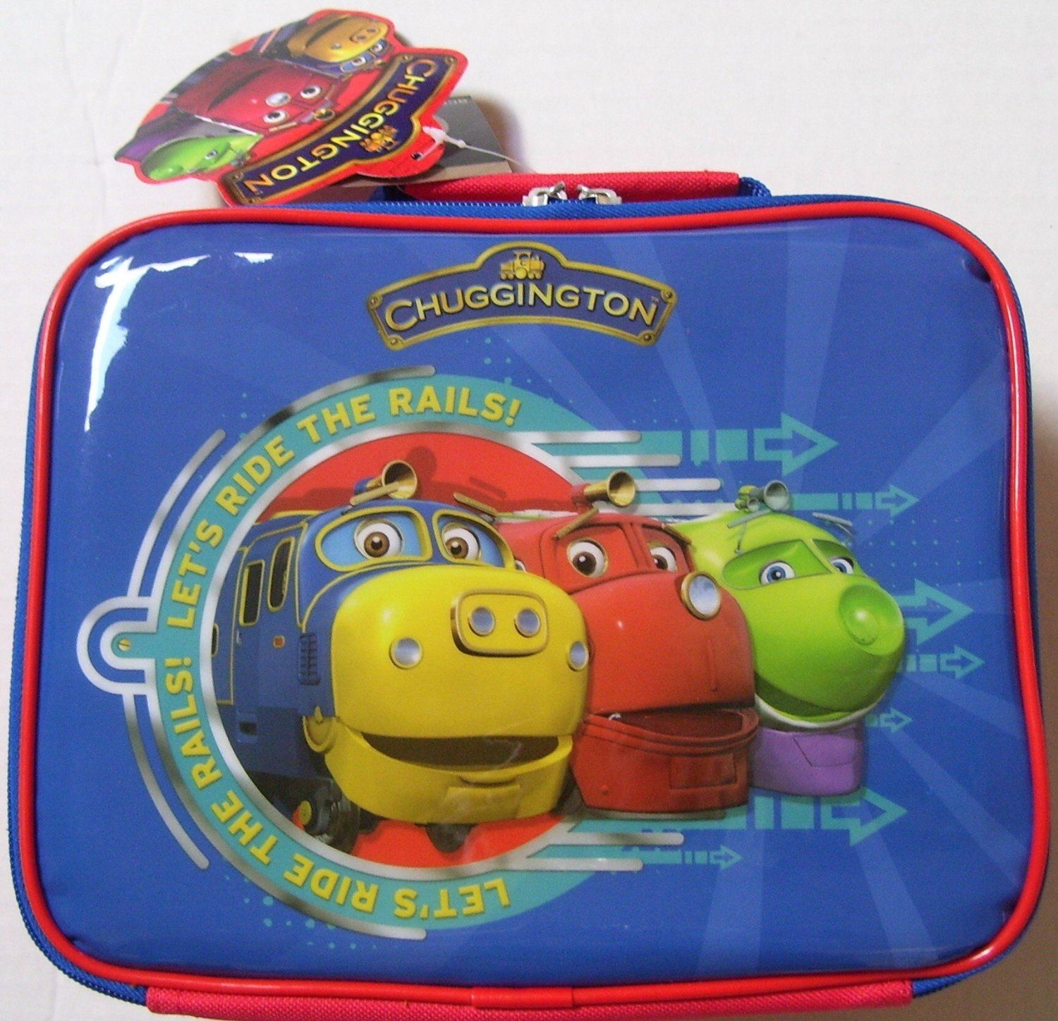 Chuggington Children Lunch Bag Box | MD/ gift ideas | Pinterest