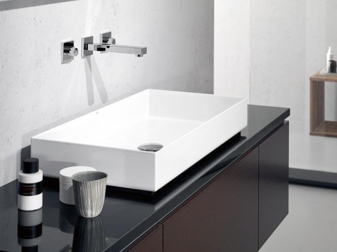 Alape Metaphor 750 Above Counter Basin Washbasin Design Sink