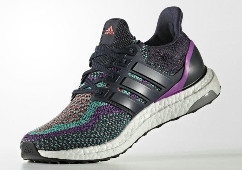 f4fdec86a Genuine Real adidas Ultra Boost Night Navy Shock Purple