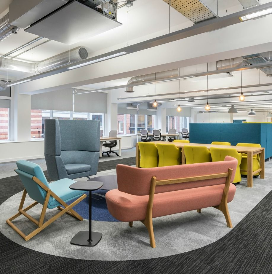 Office Design For Manchester Growth Company Furniture Furniture Design Office Interior Design