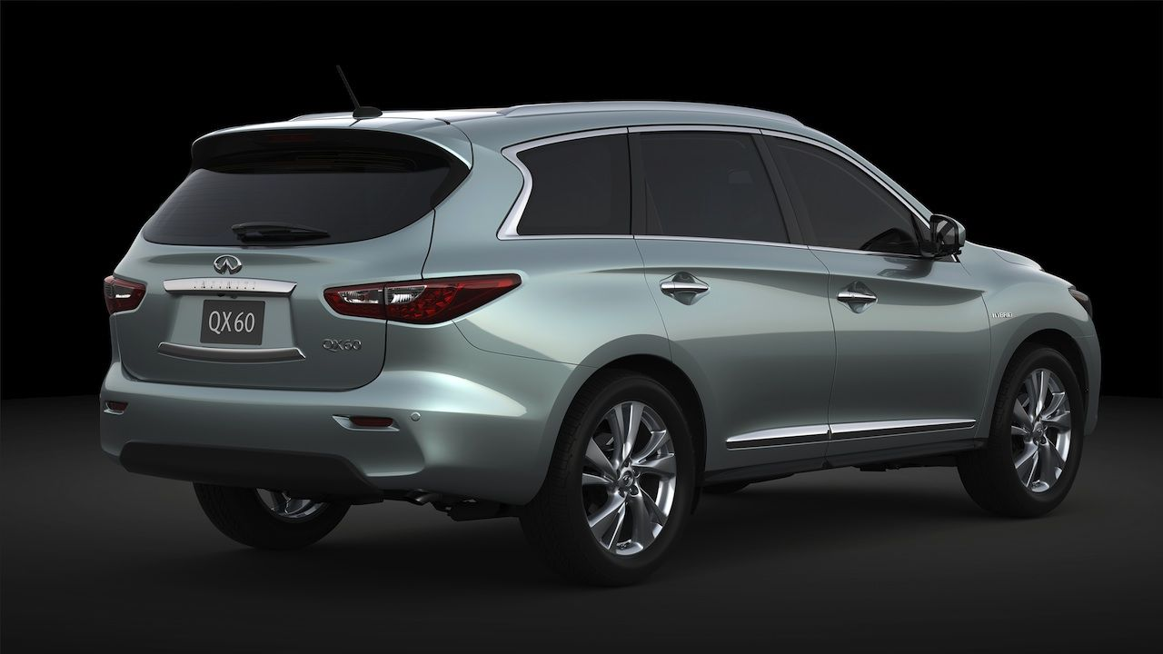 2014 infiniti qx60 supercharged hybrid 260 hp 26 mpg perfect for skiing with great