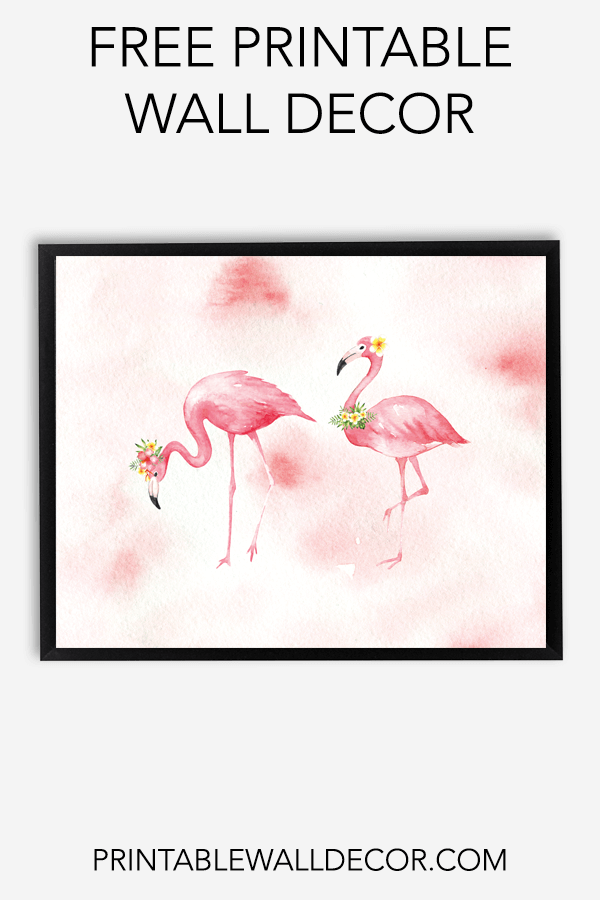 Free Printable Flamingo Wall Decor Download And Print Free Printable Wall Art Just Download Print A Free Poster Printables Free Wall Art Free Printable Art