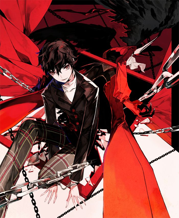 Protagonist Persona 5 With Images Persona 5 Persona 5 Joker