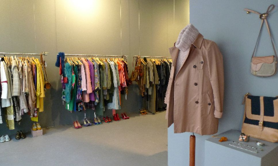 Garments Vintage Secondhand Shop With Selected Vintage Clothes