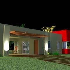 Casas modernas por Arq.Rubén Orlando Sosa