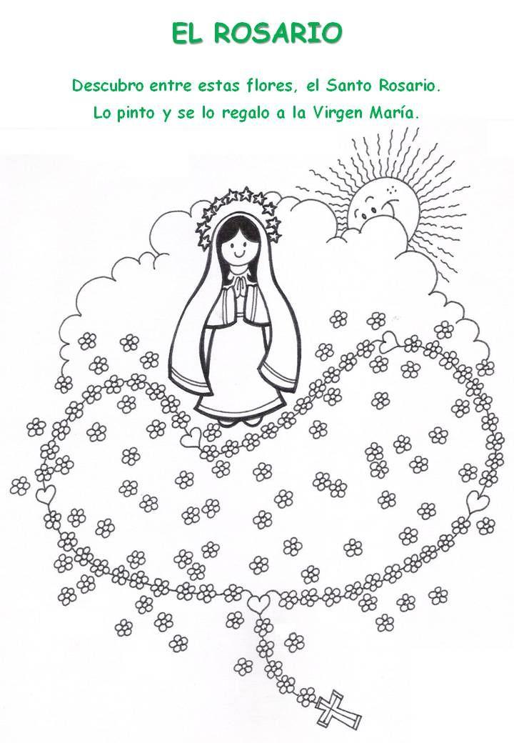 Virgen de Schoenstatt infantil - Buscar con Google … | religion | Bible…