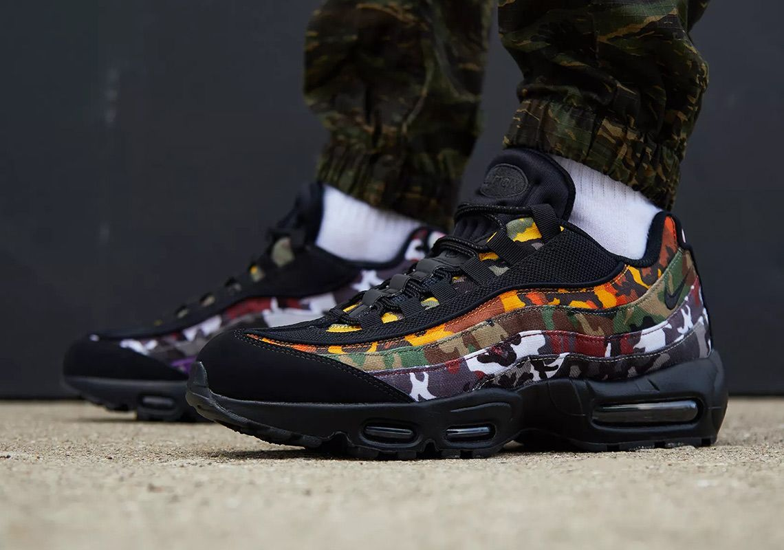 681aba9d898dbe Where To Buy The Nike Air Max 95 ERDL Party Camo