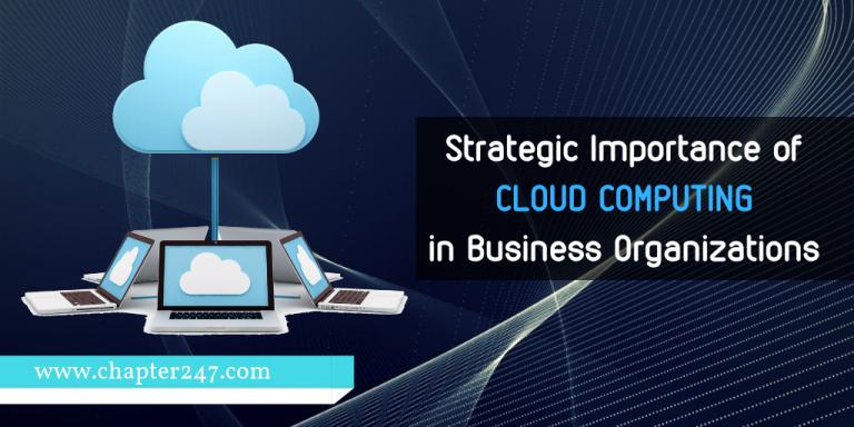 Strategische Bedeutung der Cloud-Computing-Lösung in Unternehmensorganisationen