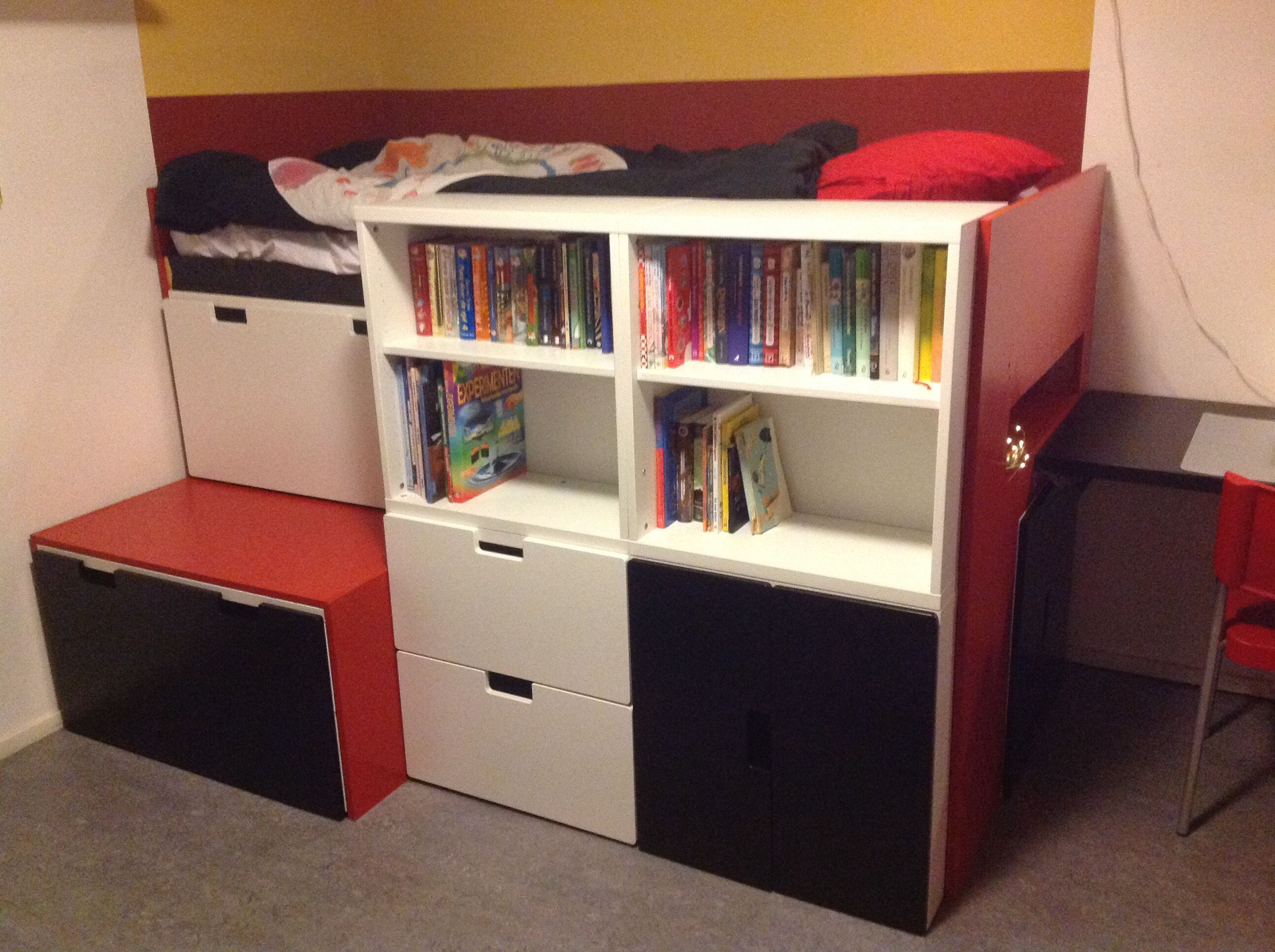 Amazing Bedroom Hacks Amazing Ikea Hacks Bed Made Out Of Ikea Stuva Components
