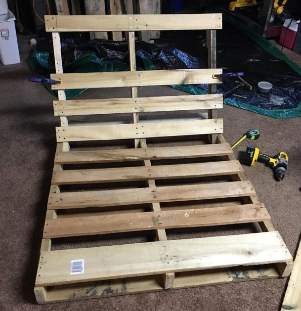 how to make a diy tree swing out of an old pallet sf