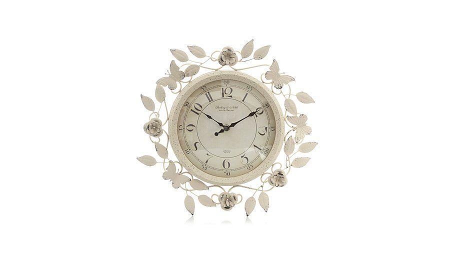 George Home Rose Clock Home Accessories George At Asda Rose Clock Clock George Home