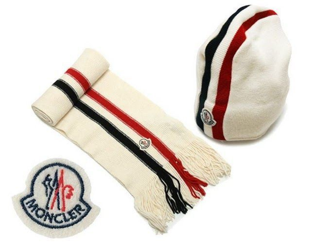 323ebc59b find cheap Moncler Hat and Scarf Set best quality, Moncler Wool ...