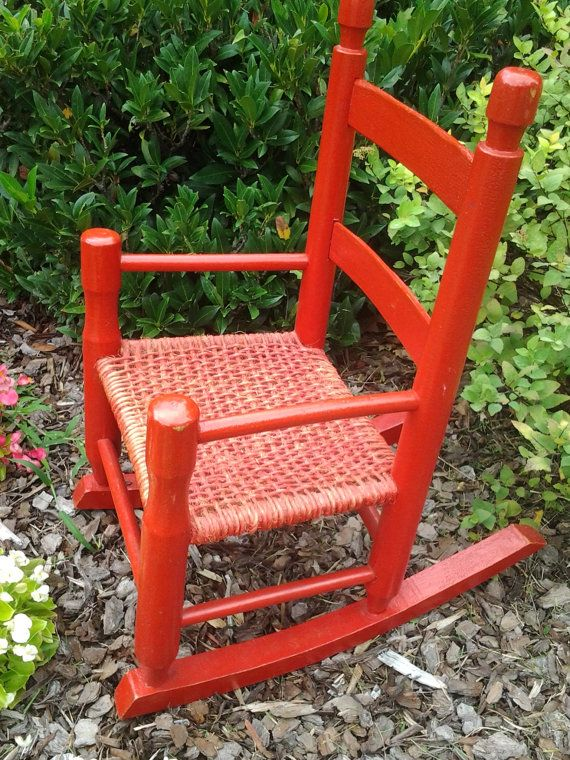 Groovy Little Red Rocking Chair Childrens Rocker By Ncnpc Chair Design For Home Ncnpcorg