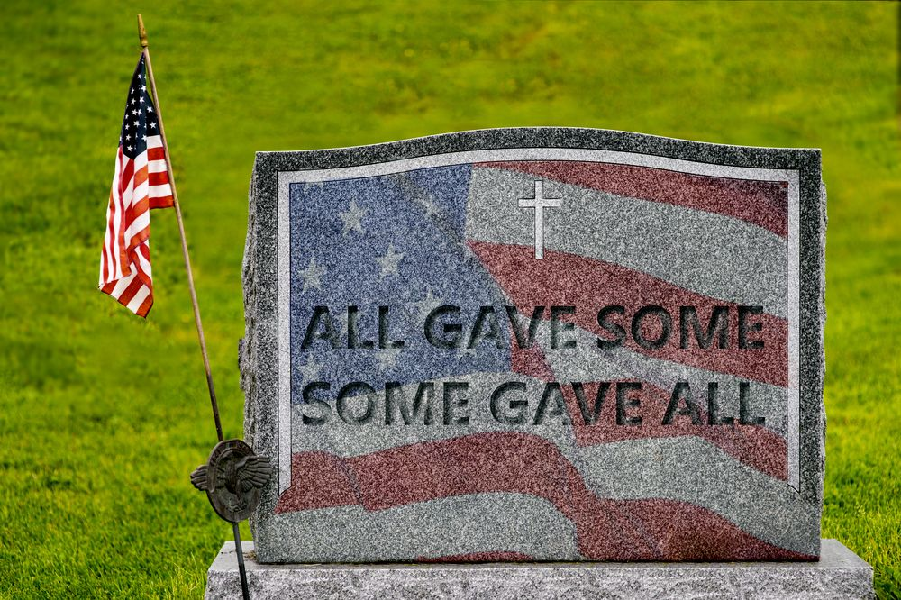 On this Memorial Day — Pause and Remember the men and women who paid the price of our freedom and then go on about enjoying those freedoms.