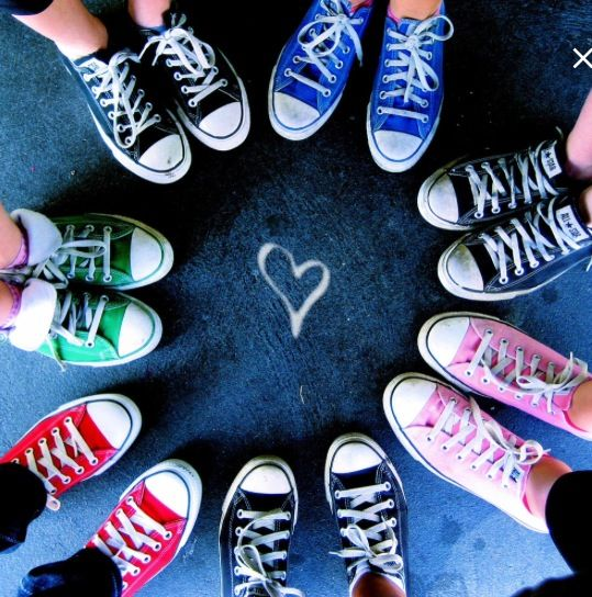 I'm in love with converse