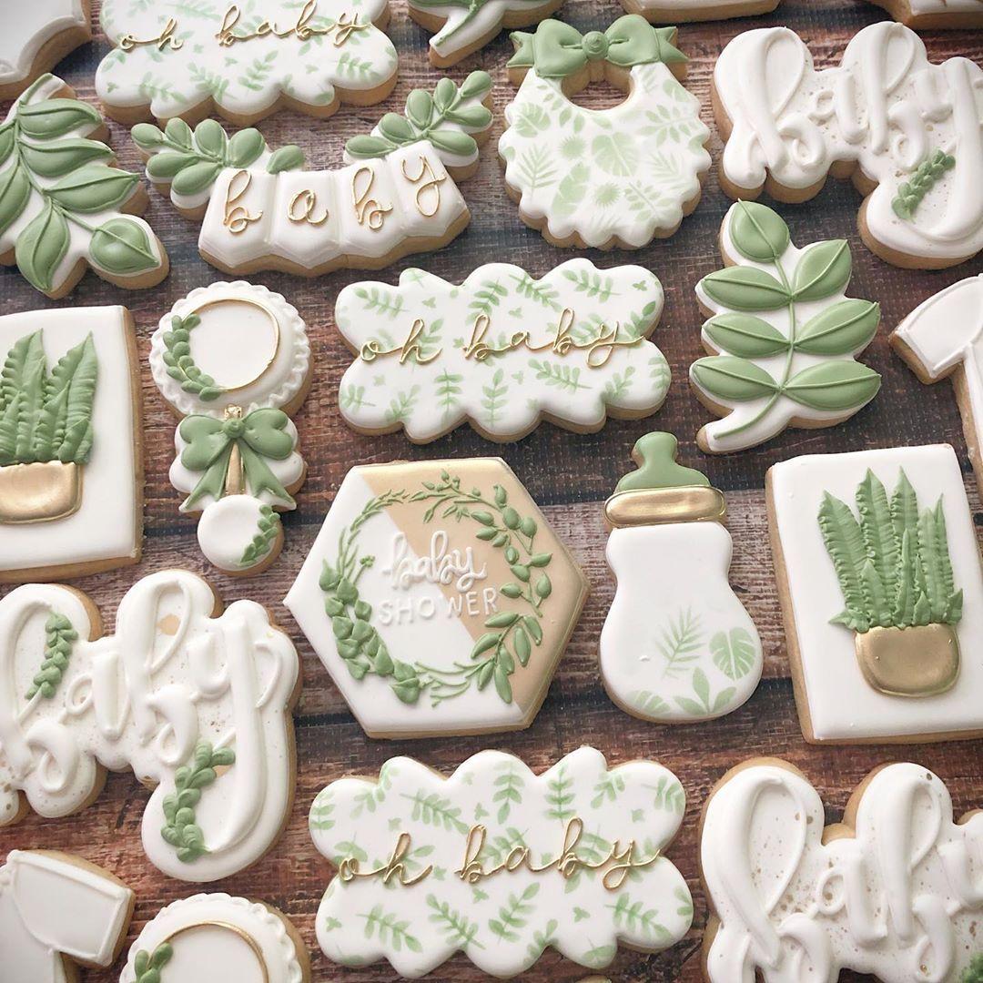 "sarah gutman on Instagram: ""� oh baby � . . . . . . . . .#decoratedcookies #customcookies #royalicing #cookies #cookiesofinstagram #eeeeeats #food52 #instayum…"""