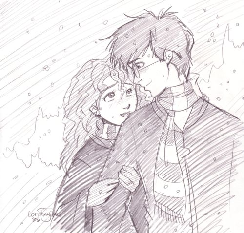 A Cold Winter Night by irishgirl982 on deviantART Harry and Ginny