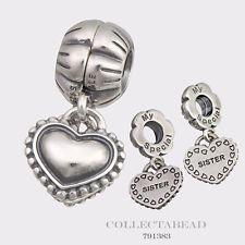 pandora sister charms silver
