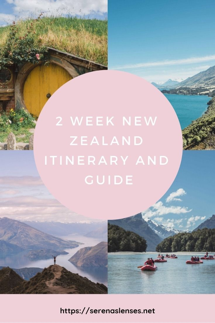 2 Week New Zealand Itinerary & Road Trip Guide To See South & North Island #holidaytrip