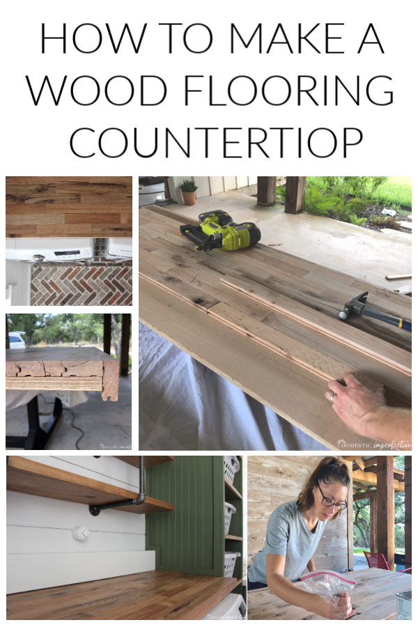 Photo of How to Make a Countertop out of Wood Flooring