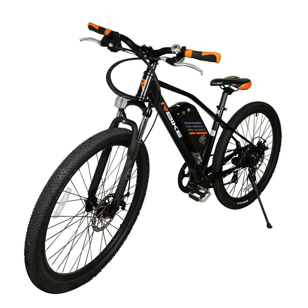 Long Lasting 36v 250w Pedal Assist Electric Bicycle 26 Mountain