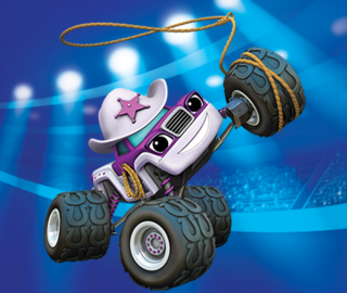 Images of starla from blaze and the monster machines for Cartoni blaze