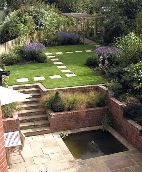 55 Small Urban Garden Design Ideas And Pictures: Idea By Rebecca Temperton On Gardening