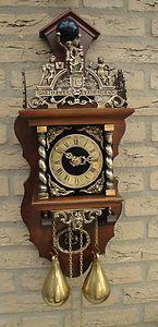 Old Dutch Large Zaandam Clock Of Holland Dutch Clocks