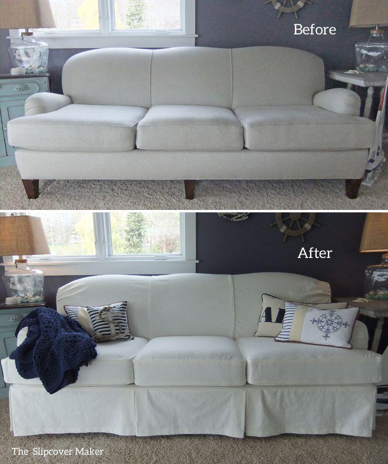 Cool White Denim Slipcover For Art Van Sofa In 2019 Slipcovers Creativecarmelina Interior Chair Design Creativecarmelinacom