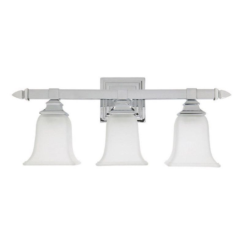Capital Lighting 1063-142 Capital Vanities 3 Light Bathroom Vanity Light Chrome Indoor Lighting Bathroom Fixtures Vanity Light