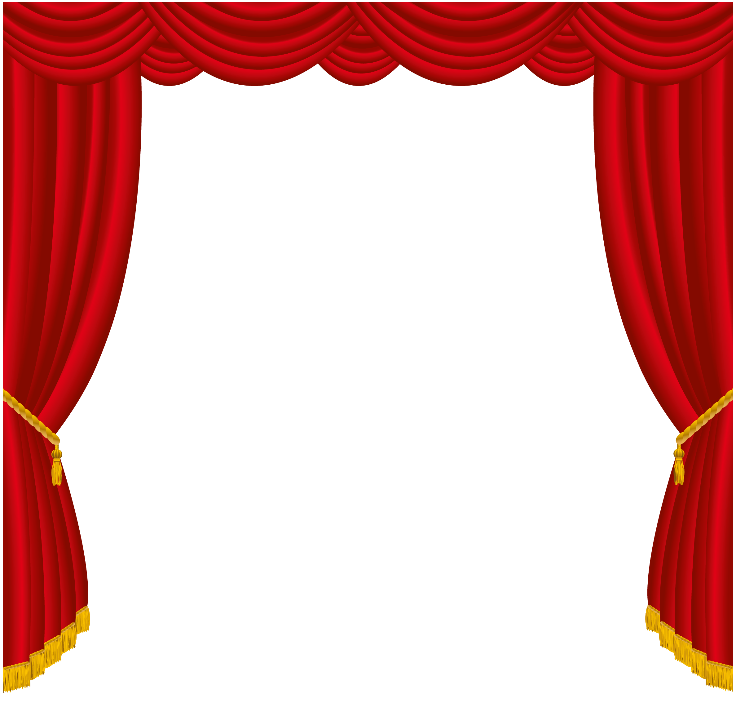 Transparent Red Curtains Decor PNG Clipart | BKS ...