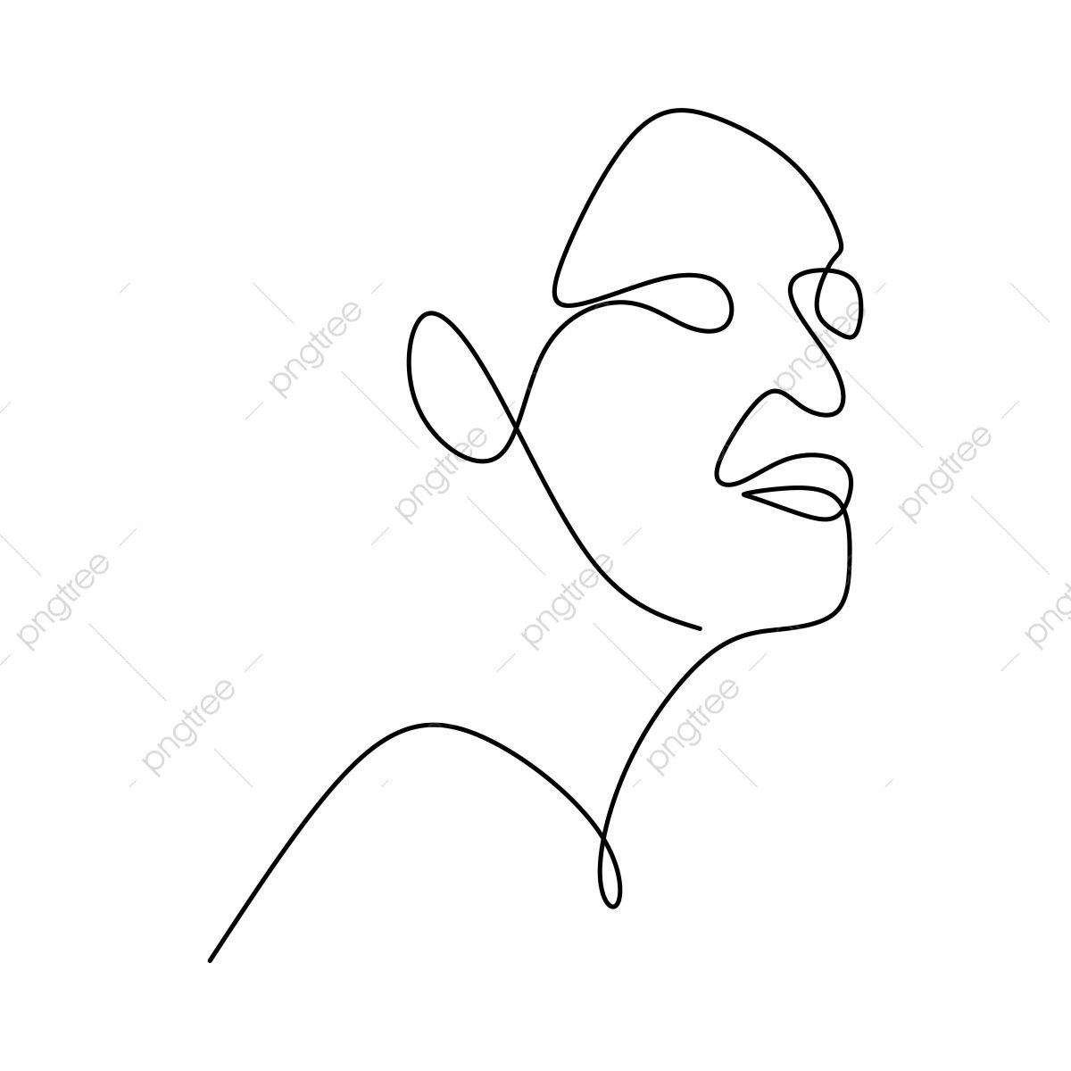 ملخص وجه مستمرة نمط خط الرسم التوضيح النواقل بساطتها على خلفية بيضاء جيدة ملصق الفن و ورق الجدران خط واحد الترهلات رسم Png والمتجهات للتحميل مجانا Negative Space Art Abstract Faces