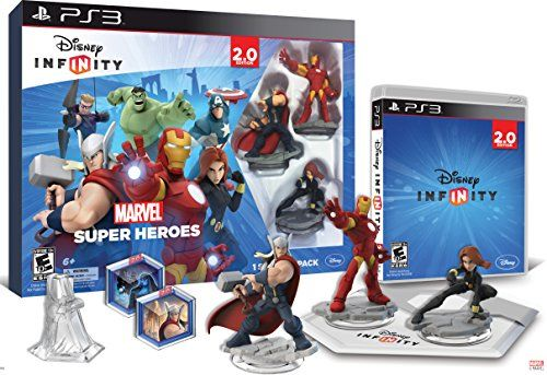 Disney INFINITY Marvel Super Heroes 20 Edition Video Game Starter Pack  PlayStation 3 ** Visit the image link more details. Note:It is Affiliate Link to Amazon.