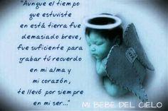 Palabras Para Un Bebe Fallecido Poema Poemas Para Un Hijo Frases Para Un Angel Frases Para Bebes