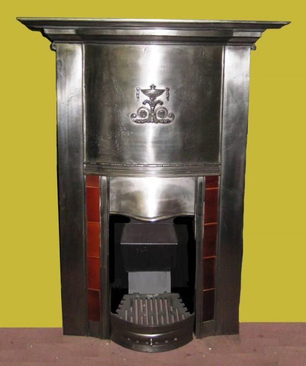 Antique Vintage Bedroom Fireplace: Antique 1920 1930s Cast Iron Fireplace