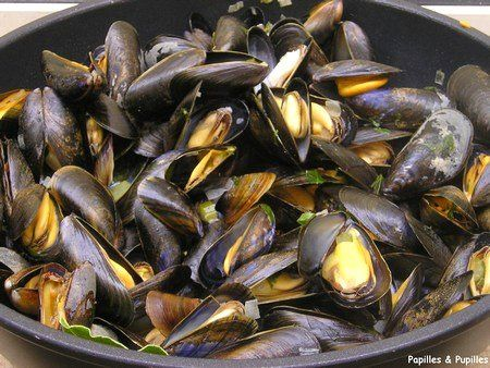 Moules marini res octobre recettes de saison moules marini res moules et recette moules - Cuisiner le bar ...