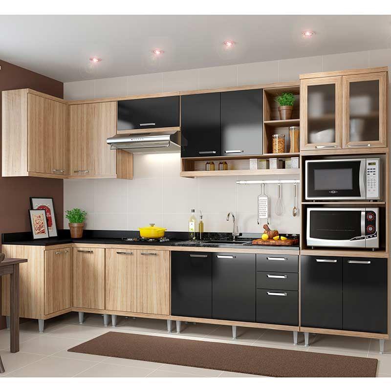 Cozinha Compcta 7 Pecas 5830 S15 Sicilia Multimoveis Argila
