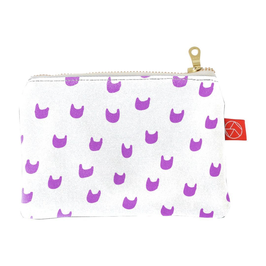 Coin Purse   Cat Lady Pink