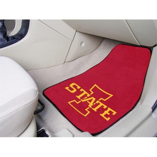 Iowa State Cyclones NCAA Car Floor Mats (2 Front)