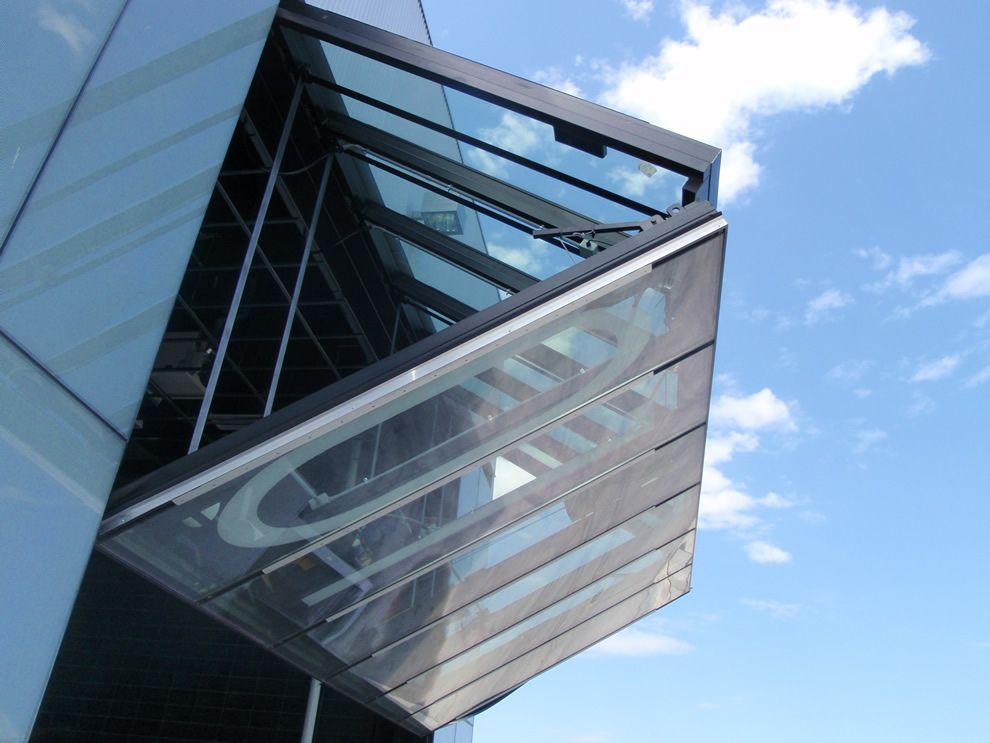 Schweiss bifold glass door in open position pinned by mel & Schweiss bifold glass door in open position pinned by mel   10/29/14 ...