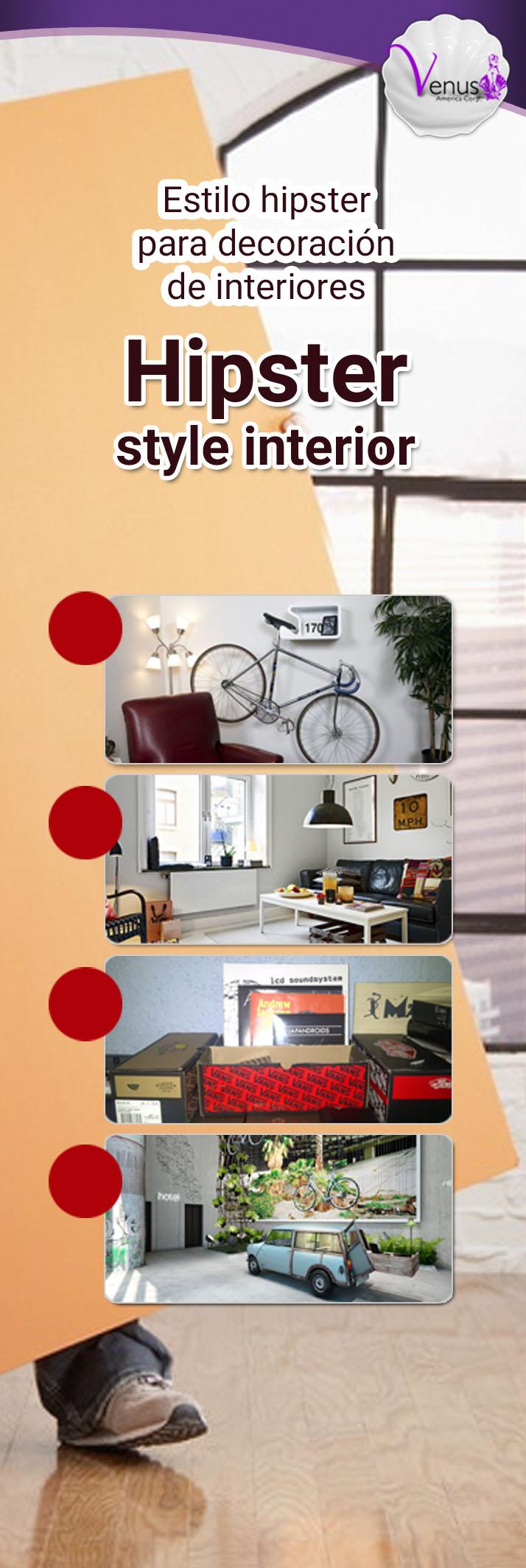 El estilo hipster es la nueva tendencia en decoraci n de - Nuevas tendencias en decoracion de interiores ...