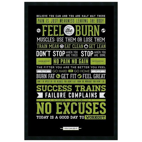 ''Gym'' Motivational Framed Wall Art, Black (520 BRL) ❤ liked on Polyvore featuring home, home decor, wall art, black, framed wall art, black home decor, black wall art, motivational wall art and vertical wall art