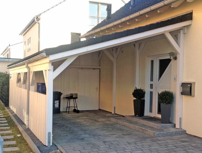 Carport Aus Holz Mit Pultdach Carport Pinterest Carport Garage