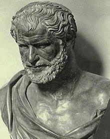 Democrito (V sec. a.C.): «Noi siamo stati discepoli delle bestie nelle arti più importanti: del ragno nel tessere e nel rammendare...».