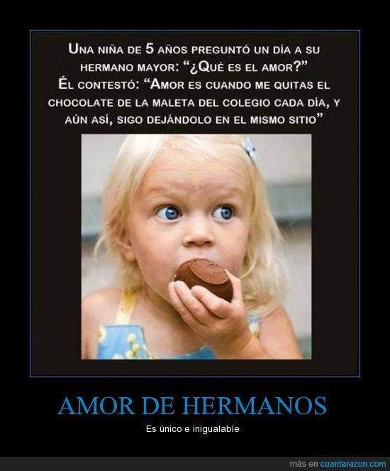 Amor De Hermanos What Is Love Love Is When Cute Stories