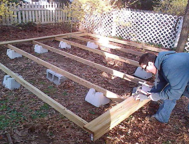 Building A Ground Level Deck Video Great Back Yard Areas