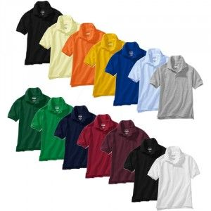 Snag Polos For Your Kids At Walmart 19 For A 4 Pack Products