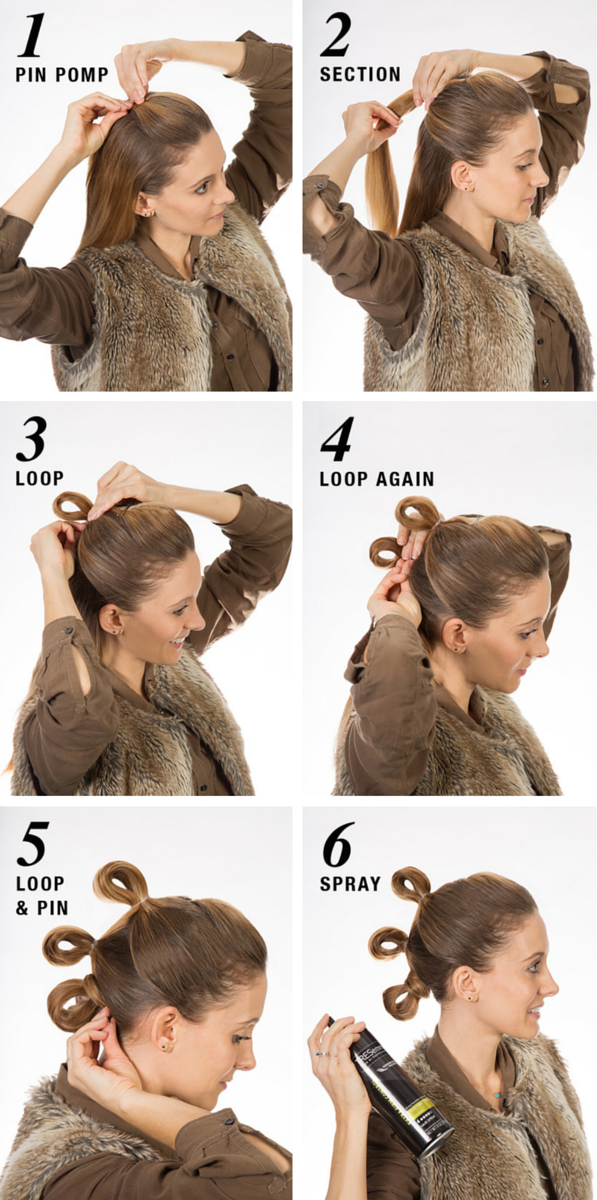 Tresemm 233 Shows Star Wars Fans How To Get Rey S Hairstyle From The Force Awakens Them How
